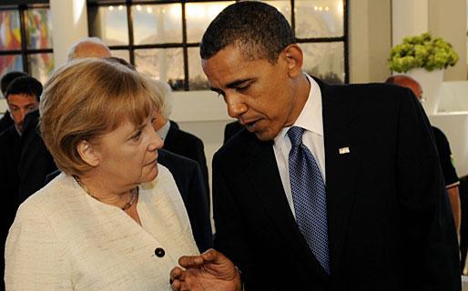 Merkel-obama-getty