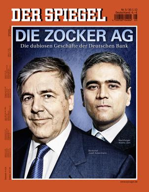 Der Spiegel Cover Story Usa Against Deutsche Bank Dialog