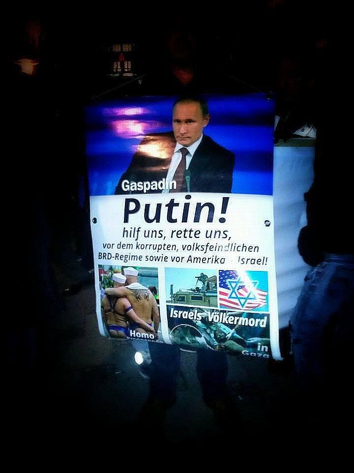 Putin, hilf uns
