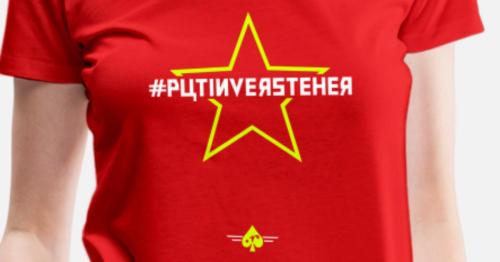 Putinversteher-frauen-premium-t-shirt